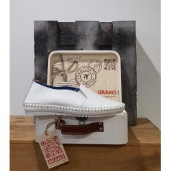 Chaussures femme BRAKO CLIO BLANCO TRAVELLER
