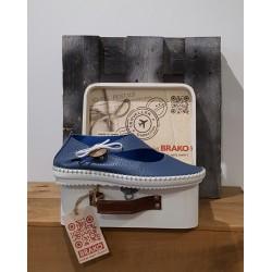 Chaussures femme BRAKO CLIO AZUL BLUE BLEU TRAVELLER