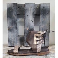 Chaussures femme sandale Sono Italyana Tmoro rame