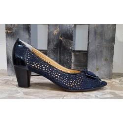 Chaussures femme Gapat bleu marine