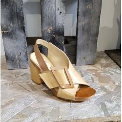 Chaussures femme Vivian cuoio cuir naturel