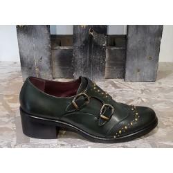 Chaussures femme EMANUELE CRASTO vert foncé