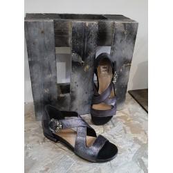 Sandales femme EMANUELE CRASTO anthracite
