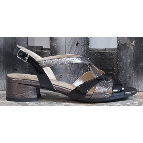 Chaussures femme Confort noir anthracite