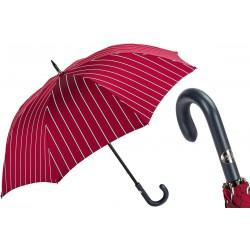 Parapluies merveilleux Pasotti rayures rouge