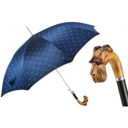 Parapluies merveilleux Pasotti avec manche en bois sculpté à la main