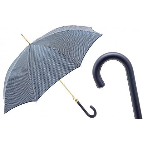 Parapluies merveilleux Pasotti pied de poule bleu