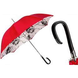 Parapluies merveilleux Pasotti rouge tournesols noir