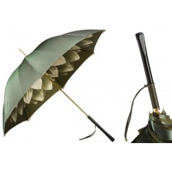 Parapluies merveilleux Pasotti vert fleur