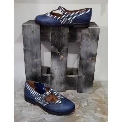 Chaussures femme NEMONIC noir bleu
