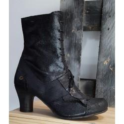 Chaussures femme GOLD BUTTON noir