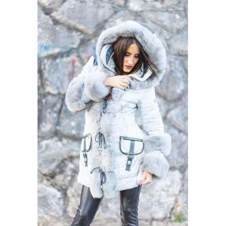 Manteau Marpel Italia gris