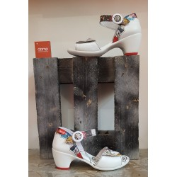 Chaussures femme Clamp BLUNOT WHT