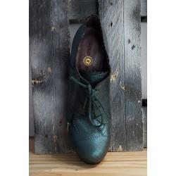 Chaussures femmes GOLD BUTTON petrole