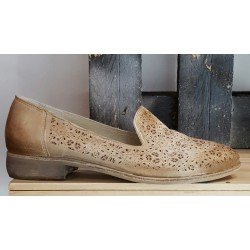 Chaussures femme Atelier cuir naturel