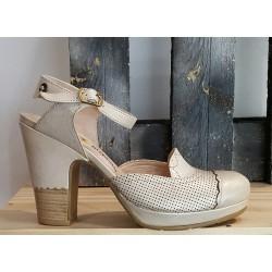 Chaussures femme GOLD BUTTON missouri perla