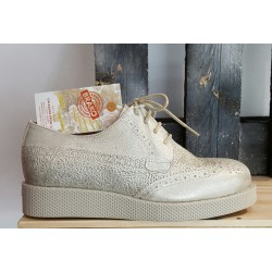 Chaussures femme BRAKO DAVE METAL PLATINO DALI-DAVE