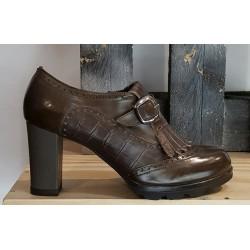 Chaussures femmes calpierre cognac