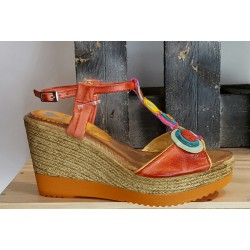 Chaussures femme MARILA fushia multicolor
