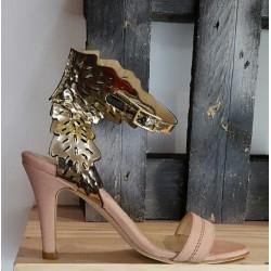 Chaussures femme Nestor Amorin rose doré