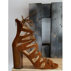Chaussures femme Spaziomoda caramel camel