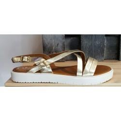 Chaussures femmes Once argenté