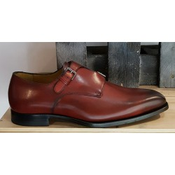 Chaussures homme Charles Dann rouge rubis