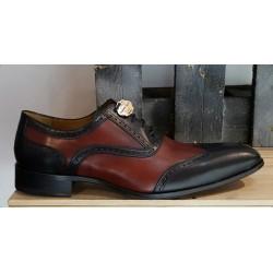 Chaussures homme Charles Dann noir bordeaux