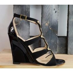 Chaussures femme Fiorangelo noir or