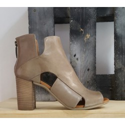 Bottillons femme Paola Firenze taupe