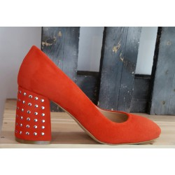 Chaussures femme Debutto Donna rouge