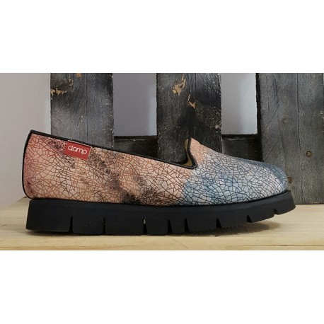 Chaussures femme Clamp multicolor