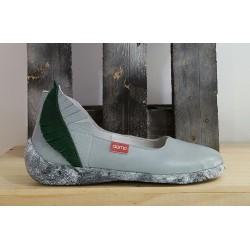 Chaussures femme Clamp gris vert