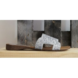 Mules femme Paola Firenze argent
