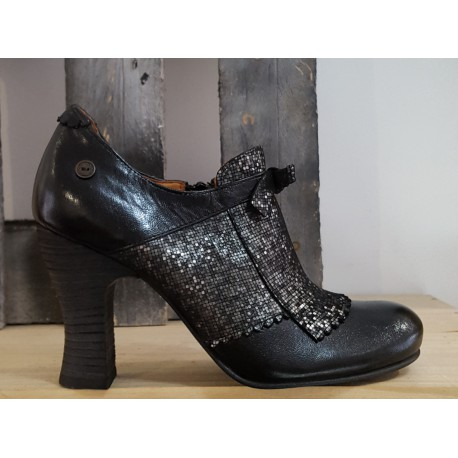 Chaussures femme GOLD BUTTON teki negro betty noir