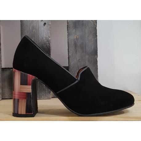 Chaussures femme GOLD BUTTON ante por negro lilly negro noir