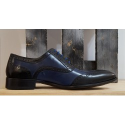Chaussures homme Charles Dann noir bleu